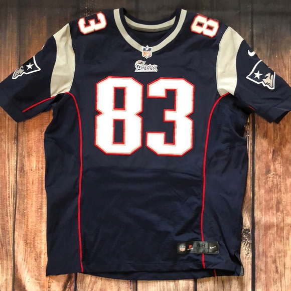 competitive price 87ac9 58d3c Authentic Patriots jersey